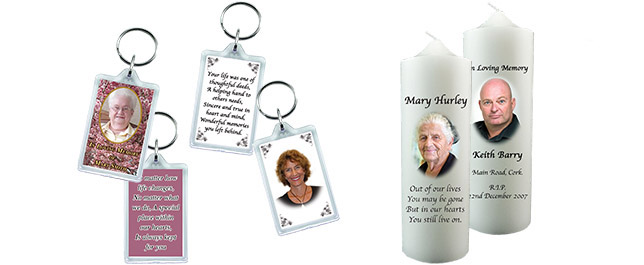 keyrings & candles